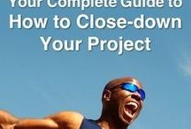 Project Closure / How you can close off your Project in an orderly way, so it is clearly DONE, and you are ready for the next one. This is the last stage of Project Management.