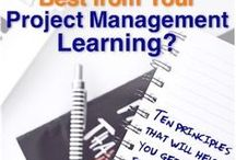 Project Learning / To be a good Project Manager - and to stay one - needs continuous learning. What resources are available?