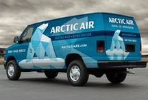 HVAC Truck Wraps / Graphic D-Signs will make sure your HVAC vehicle wrap doesn't veer off-course. We understand the importance of your outdoor HVAC truck wraps, fleet branding and vehicle advertising. Our award-winning HVAC vehicle wrap designers know how to deliver! View our heating and cooling truck wrap portfolio—you'll see what we mean. http://graphicd-signs.com/portfolio/vehicles/#filter=.contractors