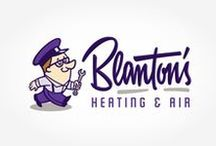 HVAC Logo Designs / Your Look. Your Signature. Your Brand. First impressions count, and your small business HVAC logo is likely the first piece of information your customers notice about your company. A quality logo instantly communicates your style and philosophy. http://graphicd-signs.com/portfolio/logos-branding/#filter=.contractors