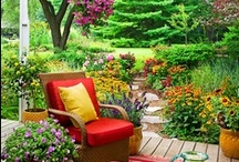 outdoor spaces / by Mary Hodgson