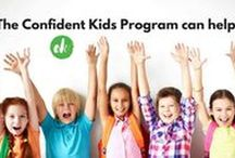 CONFIDENT KIDS PROGRAM / Confident Kids is an innovative small group program which aims to help kids and teens aged 5-14 years build resilience, confidence and self-esteem. Kids and teens will discover their personal strengths, learn resilient thinking skills as well as positive strategies to deal with issues such as anxiety, friendship issues and bullying.