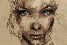 Illustrations / by Kathy Sundprescher