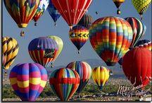 Fancy Hot Air Balloons / by Karen Kelly