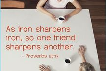 proverbs 17:17 / My friends