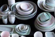 Objects / Ceramics - Vessels - Materials - Shapes - Techniques / by euni figi