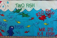 Bulletin Boards l / Ideas, Examples, and Inspiration for Classroom and Library Bulletin Boards, Door Decor, and Displays. / by Polly Wickstrom