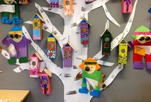 Arts and Crafts for Kids l / Ideas, inspiration, examples, and/or instructions for crafts and art lessons for children. / by Polly Wickstrom