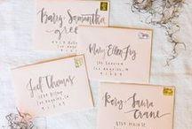 Hand Addressing Envelopes