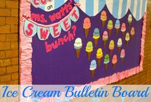 Bulletin Boards: Ice Cream-Themed / by Polly Wickstrom