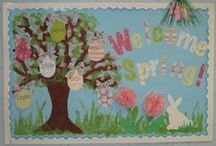 Bulletin Boards: Easter / by Polly Wickstrom