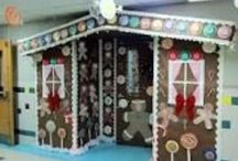 Bulletin Boards: Gingerbread Houses / by Polly Wickstrom
