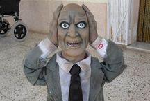 COLECCION HALLOWEEN / Artículos sobre Halloween: máscaras, películas de terror, disfraces y todo el material para que pases un terrorífico Halloween.