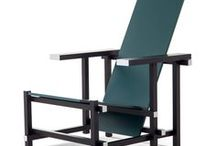 STIJL ✽ Rietveld Stijl   Rietveld Style / Architectuur in de stijl van Gerrit Rietveld. Rietveld's bekendste gebouw is het Rietveld-Schröder huis in Utrecht. Ook vele meubelen zoals stoelen, fauteuils en banken werden door Rietveld ontworpen. Ik geef je graag interieuradvies en kleuradvies in de stijl van Rietveld. Vraag vrijblijvend een offerte aan via info@stijlidee.nl