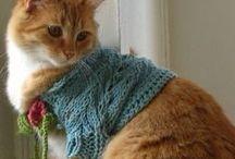 Veni, Vidi, Nodavi. (I came, I saw, I knit) / Needle and fiber arts / by Brenda Lee