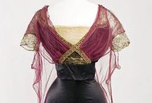 Antique Gowns: Soeurs / First established in the 1890s by the four Callot sisters as a lingerie and lace business, Callot Soeurs evolved into a premier dressmaking house in the early years of the 20th century.  www.metmuseum.org / by Robyn
