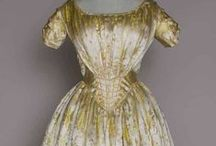 Antique Gowns: 1800's / by Robyn