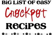 Crockpot-ing / by Tricia Diemert