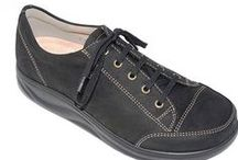 Finn Comfort shoes / Finn Comfort shoes are designed and made in Germany. Focusing on proper arch support using a replaceable and removable cork insert. Finn Comfort shoes will mold and conform to your feet. They are long lasting and great for traveling. Try a pair of Finn Comfort shoes and fall in love with the comfort and arch support!