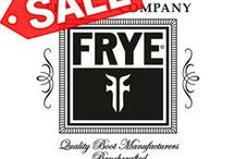 FRYE shoes / Frye boots are handcrafted. Frye boots are made in the US or Mexico. Keeping quality close and heritage. Frye boots require some break in time, but trust me, they are worth the effort. They will out last any boots you own!