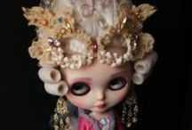 blythe / One day, when I have time for a new hobby, I'll buy a Blythe doll and create an entire wardrobe for her. And it will be fabulous.