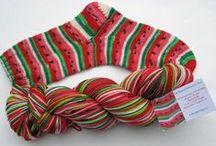 Yarn - Socks / sock patterns / by Robyn