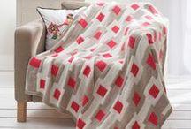 Yarn - Blankets & Throws / Knit & Crochet blanket patterns / by Robyn