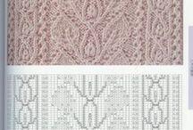Yarn - Stitch Patterns / Knit and crochet stitch patterns / by Robyn