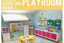 Play Room FUN / Room ideas and other great things fit a kids play room