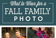 Family Photo Ideas & outfits / Photos