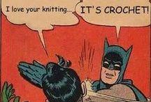 hooker humor / hook·er1  /ˈho͝okər/ noun: hooker; plural noun: hookers 1. one who crochets 2. get your mind out of the gutter