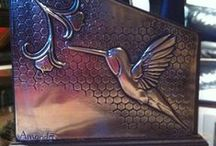 pewter art / by Cynthia Oosthuizen