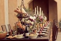 Tuscany inspired wedding theme