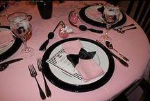 Table settings / by Debra Cox