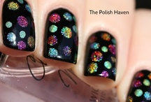 Nails / Like sprinkles on your nails!