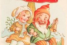 Gnomes,Pixies,Elves,Duendes.
