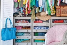 Closet Space / Let's be organized next time around (haha!).