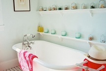 Room, Bath / It's a weird and gross room if you think about it. Let's make it pretty, at least.
