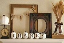 Thanks for Thanksgiving! / Thanksgiving recipes, Thanksgiving crafts, Thanksgiving decorations, Thanksgiving food / by Toulouse and Tonic