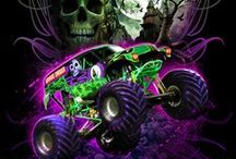 Grave Digger party / by Monica Diaz