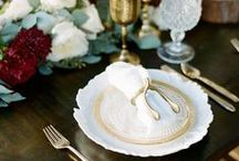 Wedding Table Settings & Decor / Ideas and decor