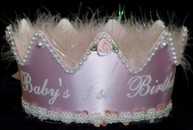 Birthday Hats for Babies / Birthday hats for babys first birthday and more. Offering birthday hats, birthday crowns and birthday tiaras for a magical day.
