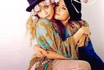 O L S E N / Love Mary-Kate and Ashley Olsen.