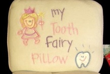 Tooth Fairy / Tooth fairy pillows and pixie dust for that special event.