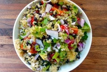 Food: Yummy Salads / Tried and true salad recipes / by Madeline