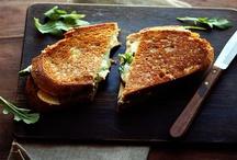 Sandwiches  / Crostini, tartines, bruschetta and open face sandwiches  / by Najwa Kronfel
