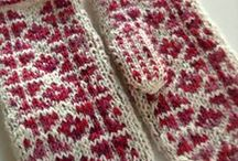 knits galore / by Maggie Faulks