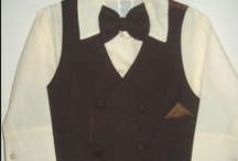 Semi Formal Suits for Babies / A nice alternative to a 5 piece formal suit for babies is this 4 piece semi formal suit.