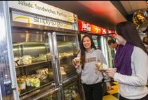 UAlbany Dining / Learn about the dining options at #UAlbany,  from residence halls: Indian Quad, State Quad, Colonial Quad, Dutch Quad and Alumni Quad to retail dining in the Camus Center: 518 Market, Stalks & Stems, Umai Sushi, Coccadotts, Cusato's, Mein Bowl, Wholly Habaneros, UFood Grill & H2O Zone. / by University at Albany, SUNY