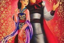 Mulan and Shang / The best illustrations of Mulan (Disney Princess)